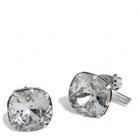 Coach :: Crystal Stud Earrings