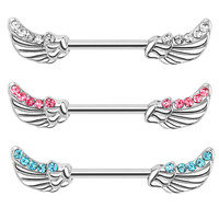 Angel Wings Nipple Bar