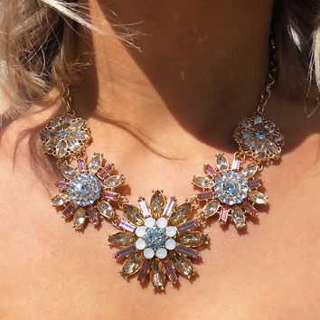 Keep It Classy Necklace: Gold/Multi