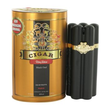 Remy Latour Cigar Black Oud Eau de Toilette Spray for Men, 3.3 Ounce