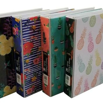 "1.5"" Passion 4 Fashion Binder with Inner Pockets - CASE OF 12"