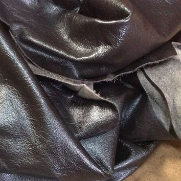 ZIBR08. Dark Brown Leather Cowhide