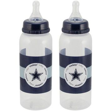 Dallas Cowboys 2-Pack Baby Bottles