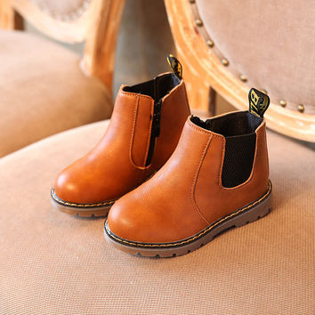 COZULMA Leather Boots