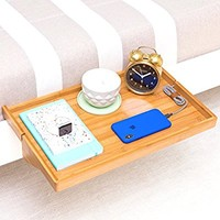The Original BedShelfie PLUS Bedside Shelf - 3 Colors / 2 Sizes - AS SEEN ON Business Insider (in Natural PLUS)