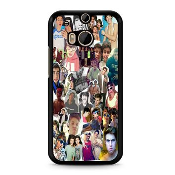 Dolan Twins Collage 3 2 HTC M8 Case