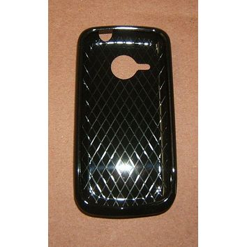 Xentris 62-0079-01 Silicone Case For Droid Eris HTC 6200 Black -- New