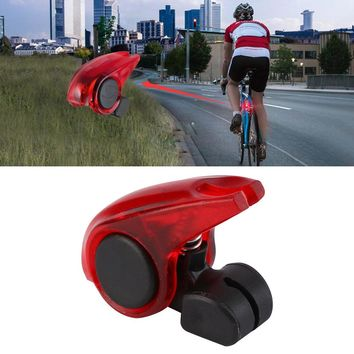 2018 New Portable Mini Brake Bike Light Mount Tail Rear Bicycle Light Cycling LED Light Waterproof high brightness red LED lamp