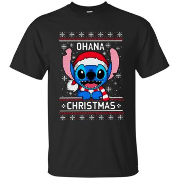 Ohana Stitch Lover Best Selling Christmas T-Shirt