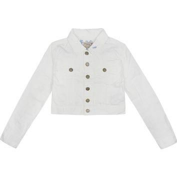RALPH LAUREN - Cropped denim jacket 7-16 years | Selfridges.com