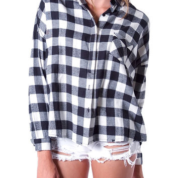 Tartan World Plaid Shirt White
