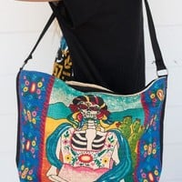 Day Of The Dead Skeleton Bag