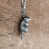 Beaver Necklace April / May Native American Birth by leanimale