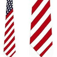 FLAG ties Neckties by Ralph Marlin