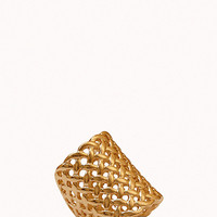 Woven Cocktail Ring