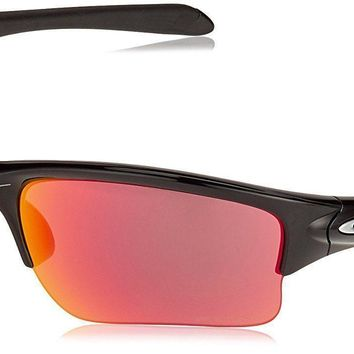One-nice™ NEW OAKLEY QUARTER JACKET YOUTH OO9200-2561 POLISHED BLACK W/ PRIZM FIELD LENS