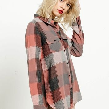 Fly High Long Sleeve Flannel