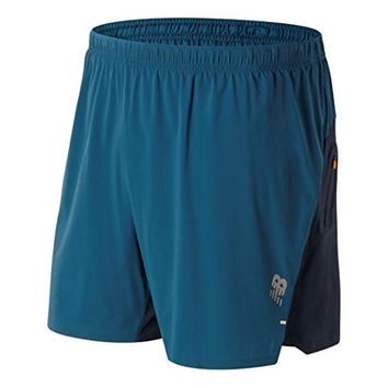 New Balance Men's Precision Hybrid 6-inch Running Shorts