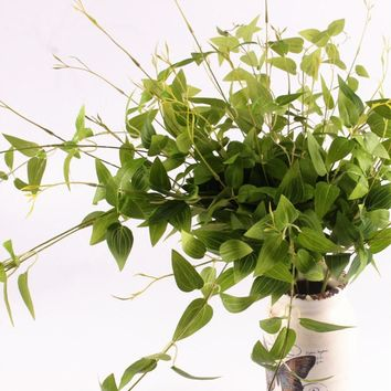 Vitality Artificial Vine Green Leaves Plant
