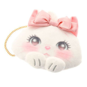 Marie Cat Clasp Coin Case Pouch Lovely ❤ Disney Store Japan The Aristocats