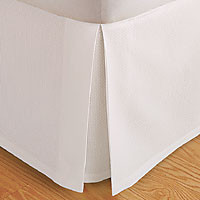 Queen size Microfiber Bed Skirt
