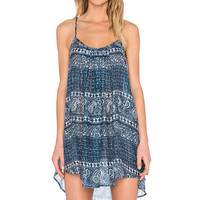 AMUSE SOCIETY Rorie Dress in Indy Blue