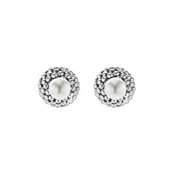 Pearl Front-Back Earrings | Signature Caviar | LAGOS Jewelry