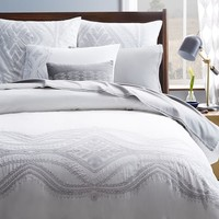 Maroc Embroidered Duvet Cover + Shams