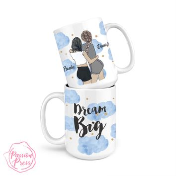 Dream Big-  Personalize the Girls