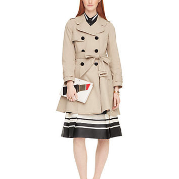 classic twill trench coat