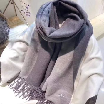 Women Casual Fashion Classic Comfortable Double Sided Scarf
