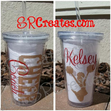 CHEER Mom or CHEER Coach or CHEER Girl Tumbler