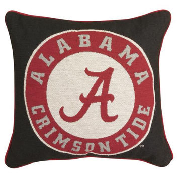 Throw Pillow - Alabama Crimson Tide