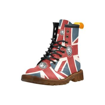 NFA The Original Union Jack Combat Boots Limited Edition