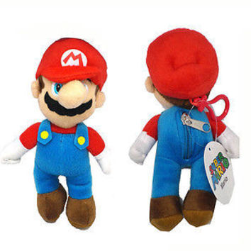 Nintendo Super Mario Brothers MARIO Plush Coin Holder Keychain- NEW with Tags!