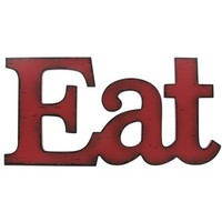 Red Eat Wall Plaque   Shop Hobby Lobby