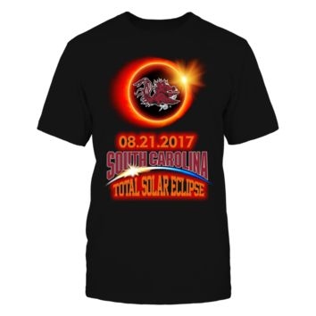 South Carolina Gamecocks - Total Eclipse - T-Shirt - Officially Licensed Fashion Sports Apparel