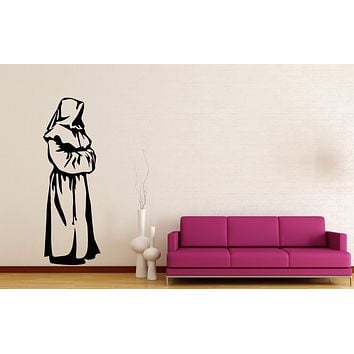 Copy of Wall Stickers Vinyl Decal Monk Religion Religios Symbol Christianity  Unique Gift (z2004)