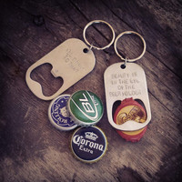 Customized Beer Bottle Opener