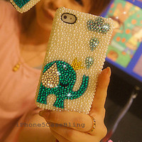 iPhone 4 Case, iPhone 4s Case, iPhone 5 Case, iPhone 5 bling Case, Bling iPhone 4 case, elephant iphone 4 case, elephant iphone 5 case