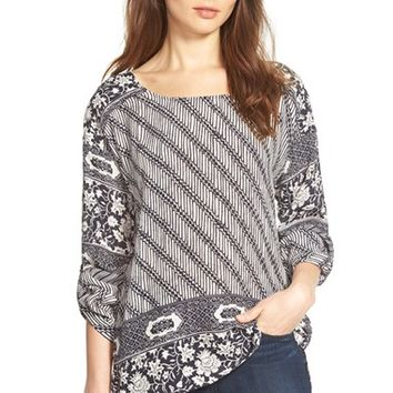 Women's Plenty by Tracy Reese Mixed Print Tee,
