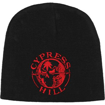 Cypress Hill Men's Arrow Skull Beanie Black