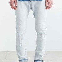 ZANEROBE Low Blow Blonde Ripped Jean- Sky
