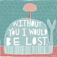 Without You I Would Be Lost Fine Art Print Large by FreyaArt