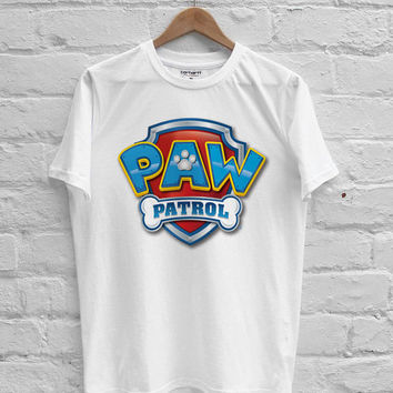 PAW Patrol logo T-shirt Men, Women Youth and Toddler
