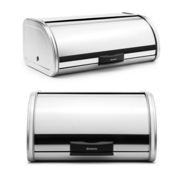 Brabantia® Bread Storage Touch Bin® in Brushed Stainless Steel