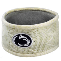 Penn State Nittany Lions Top of the World Women's Fleece Lined Headband - Cream