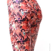 Gorgeous Ladies Of Wrestling Leggings