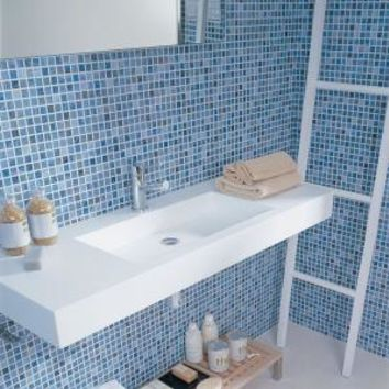 PORCELANOSA, Eidos 12 in. x 8 in. Oceano Ceramic Tablet Mosaic Wall Tile, P31446031 at The Home Depot - Mobile