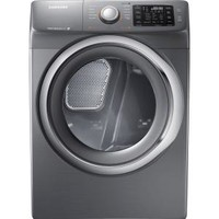 Samsung 7.5 cu. ft. Electric Dryer with Steam in Platinum DV42H5200EP at The Home Depot - Mobile